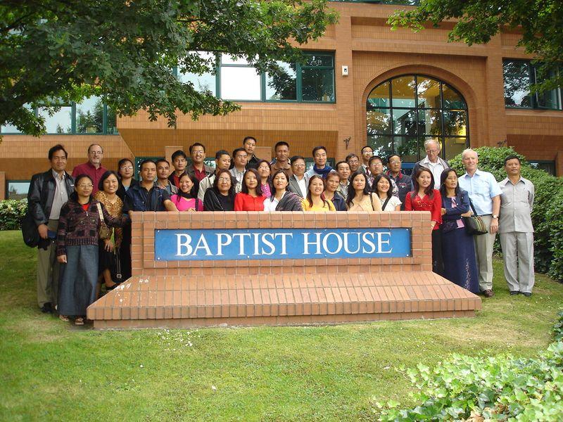 Mizo Baptists visit BH